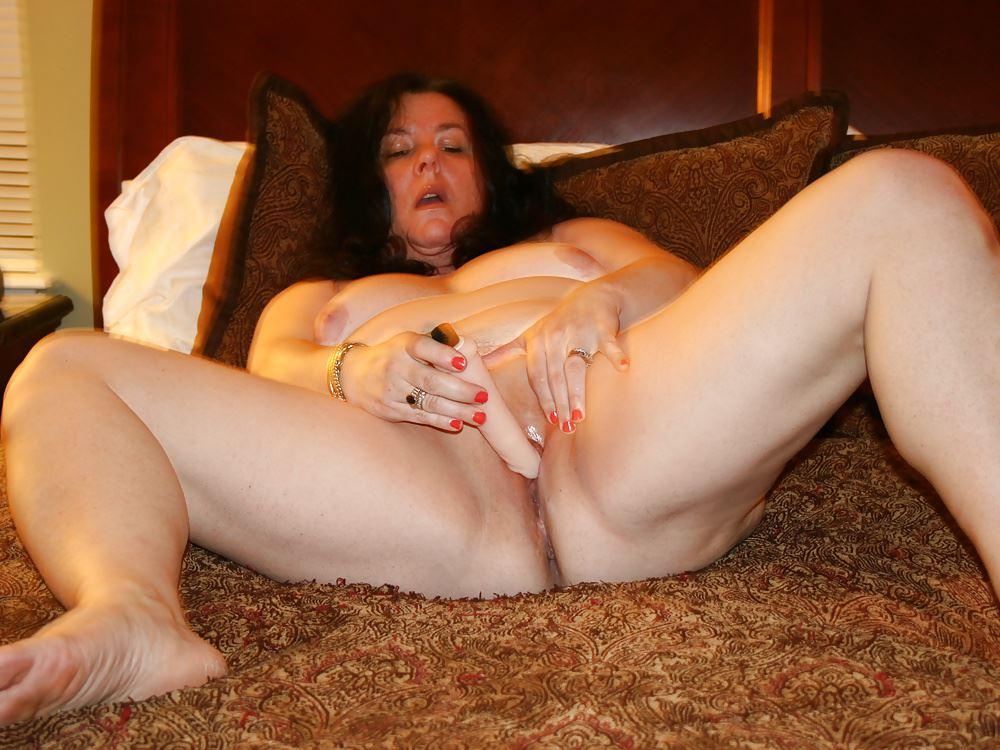 Beautiful brunette girlfriend bangs in sauna